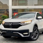 Xe Honda CR-V L trắng mới